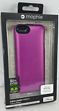New Authentic Mophie juice pack helium Charging Case for Apple iPhone 5 /5s Pink