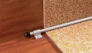 STAIR CARPET RODS - anodised aluminium, Bar for stair carpeting