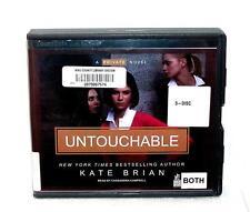 BOOK/AUDIOBOOK CD Kate Brian Fiction Novel Mystery UNTOUCHABLE