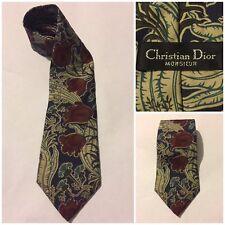 Christian Dior Monsieur Men's Multi Color100% Silk Neck Tie