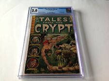 TALES FROM THE CRYPT 40 CGC 2.0 PRE CODE HORROR EC COMICS USED IN HEARINGS DAVIS
