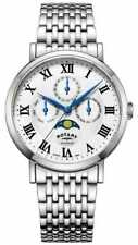 Rotary Mens Windsor Moonphase Silver Tone Gb05325/01 Watch - 13 off