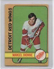 1972-73 O-PEE-CHEE MARCEL DIONNE DETROIT RED WINGS 2