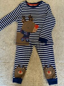 Boys Reindeer Christmas Pyjamas Age 2-3