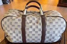 Genuine Louis Vuitton Damier Lune Canvas Sac Sport Duffle Bag Extremely RARE