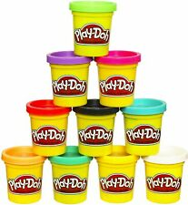 Play-Doh Modeling Compound 10 Pack 2oz Cans, Non-Toxic, Assorted multi-Colors