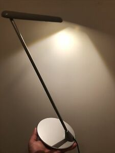 Herman Miller Flute Light LED Y6470 Design by Tom Newhouse Grey Touch Light