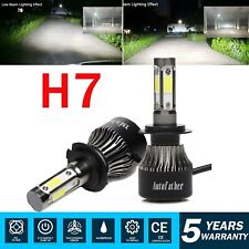 2x H7 15000LM 120W Super Bright LED Headlight Conversion Kit Halogen Replacement