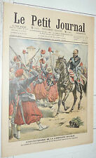 PETIT JOURNAL 1909 50 NAS CAMPAGNE ITALIE 3e ZOUAVES VICTOR-EMMANUEL / CRIME