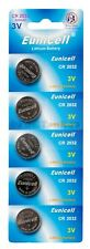 5 x CR2032 Batteries For Weight Watchers Scales Fitbit Selfie Stick Torch