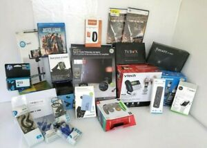 Wholesale Bulk Resale Lot 23 Electronics, Audio, Ink, Chargers, Phones, UNTESTED