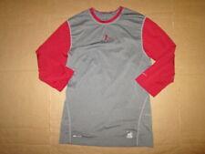 Mens Nike Dri Fit Pro Combat athletic fitted baseball shirt sz S Sm