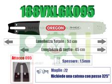 BARRA OREGON VERSACUT 188VXLGK095 45CM PASSO.325 x SPESSORE 1,5mm x 72 MAGLIE