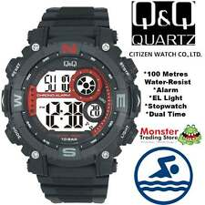 AUSSIE SELLER GENTS DIGITAL WATCH CITIZEN MADE M133J002 100M RP$99.95 WARRANTY