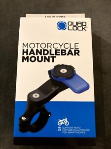 NEW: Quad Lock Motorcycle Handlebar Mount