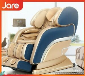 Luxury Leather Electric Full Body Massage Chair Zero Gravity Foot Roller Massage