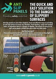 Anti Slip Decking Strips,ramp,terrace,outdoor flooring,walkway,safety 1000x150mm