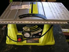 "RYOBI 10"" ELECTRIC CORDED ""PARTS"" TABLE SAW W/BLADE- MODEL#RTS10G - ""PARTS"" UNIT"