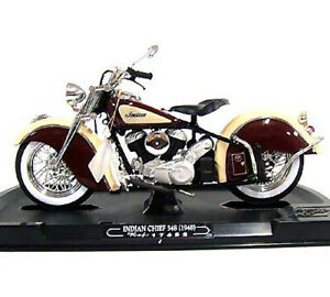 Guiloy  #17652 1/10 INDIAN CHIEF 384 (1948) / BROWN-CREAM