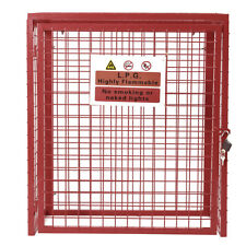 Collapsible Gas Cage Bottle Cylinder Storage Steel Mesh Cages Lockable - 5 Sizes