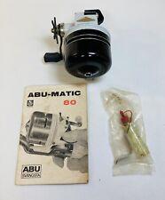 Vintage Garcia Abumatic 80 Fishing Reel Abu Matic Reels  Sweden