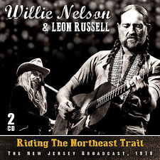 LEON RUSSELL & WILLIE NELSON New 2017 UNRELEASED 1979 LIVE CONCERT 2 CD SET