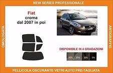 pellicola oscurante vetri fiat croma  dal 2007 in poi kit posteriore