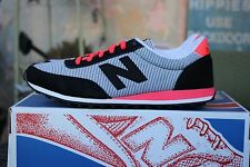 NEW in Box New Balance Classic 410 Traditional Sneaker Black & Bright Cherry 8M