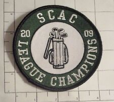 SCAC 2009 League Champions Patch - Golf Southern Collegiate Athletic Conference