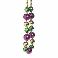 Jumbo Mardi Gras Beads - 1 Necklace - Party Accessories -Party Favors