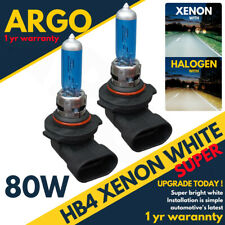 HB4 80W BRIGHT SUPER WHITE XENON LOOK UPGRADE HEAD LIGHT FOG HID BULBS P22D 12V