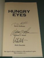 Signed Limited First Edition of Hungry Eyes by Barry Hoffman Author's 1st Novel