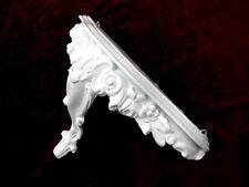 console avec miroir,/ Applique murale,étagère Blanc Glacé ,antique ornement 3084