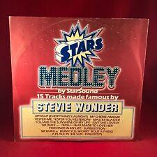 """STEVIE WONDER STARSOUND Stars On Stevie 12"""" vinyl single EXCELLENT CONDITION"""