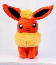 "Pokemon Center Pokedoll Flareon Stuffed Animal Plush Doll Toy 11"" Figure"