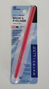 Maybelline Dark Brown Expert Wear Eyeliner Number 152 New & Sealed
