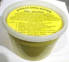 1 LB 100% PURE NATURAL RAW ORGANIC UNREFINED AFRICAN SHEA BUTTER (16 OZ)