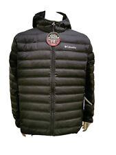 Columbia Lake 22 Down Hooded Black Heat Sealed Warmth Jacket RRP £120