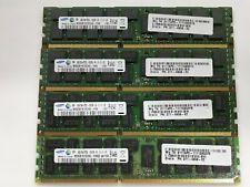 Lote 4x8GB (32GB) RAM Samsung DDR3 ECC 1333MHz 2Rx4 PC3L-10600R para Servidor