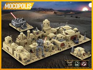 LEGO MOC Star Wars Tatooine Mos Eisley Cantina  | PDF instructions (NO PARTS)