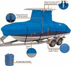 """StormPro Heavy Duty Center Console T-Top Roof Boat Cover 22-24 Long & 116"""" Wide"""