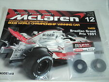 Deagostini Build Your Own McLaren MP4-23 Issue 12 Assembling the front brake *P*