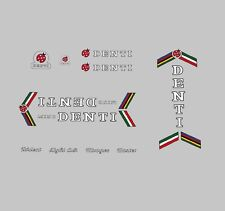 Mino Denti Bicycle Frame Decals - Transfers - Stickers n.100