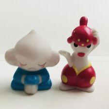 Meditite & Medicham Pokemon Nintendo Bandai Toy Figures 2pcs Set Vtg c
