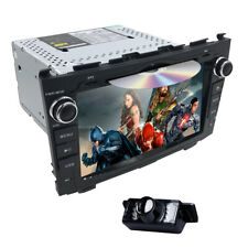 For Honda CRV 2007-2011 8'' Car Stereo Headunit Radio GPS Navi BT DVD Player+Cam