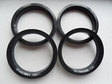 (4) ABS Hubrings   72.62mm Wheels to 64.1mm Car Hub (Hub centric rings)