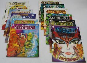 Elfquest (1979) #1-21 Full Set Wendy & Richard Pini Warp Graphics 6-21 1st VF+