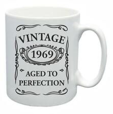 49th Novelty Birthday Gift Present Tea Mug 1969 Aged To Perfection Coffee Cup
