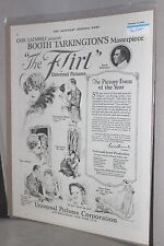 """1923 Movie Film Ad Clipping ~ """"The Flirt"""" ~ Universal Pictures; Sat Evening Post"""