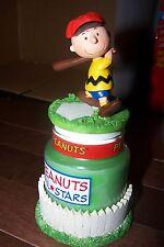 Peanuts Charlie Brown Baseball Candle Jar Avon